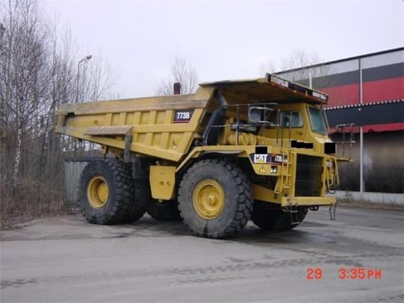 USED CATERPILLAR DUMPERS FOR SALE