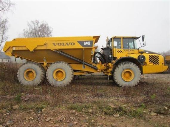 USED VOLVO DUMPERS FOR SALE